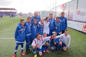 Vinnare av Fässbergs sommarcup 2014 (P-03)
